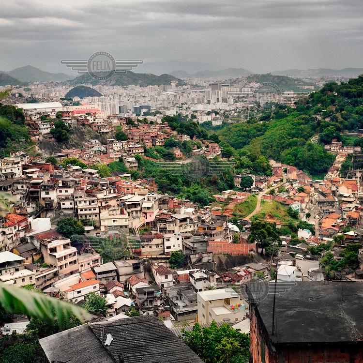 The Santa Teresa Favela.