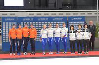 SPEEDSKATING: 09-12-2018, Tomaszów Mazowiecki (POL), ISU World Cup Arena Lodowa, Teamsprint, photo Martin de Jong
