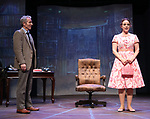 Stephen Bogardus and Melissa Errico during a Sneak Peak of the Irish Repertory Theatre Production of  'On A Clear Day You Can See Forever'  at the Irish Repertory Theatre on June 14, 2018 in New York City.