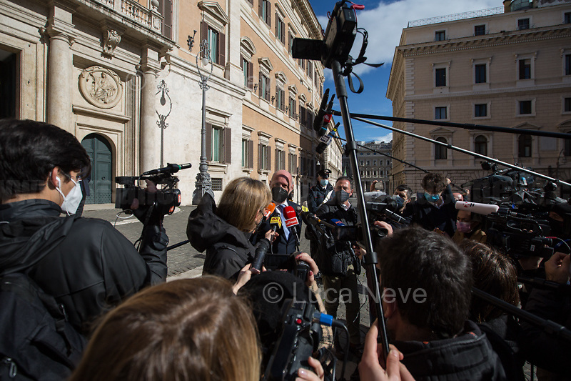 Gregorio De Falco MP (Senator & Naval Officer).<br />