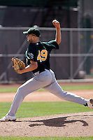 Scott Deal - Oakland Athletics - 2009 spring training.Photo by:  Bill Mitchell/Four Seam Images