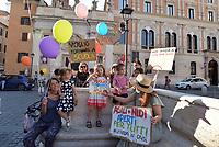 Apriti scuola, protesta a Roma