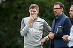 26.09.2018 Rangers training: Steven Gerrard and Jovan Kirovski