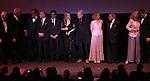 Alan Bergman, Bill Clinton,  George Segal, Michael Douglas, Ben Stiller, Barbra Streisand, Kris Kristofferson, Amy Irving, Tony Bennett, Blythe Danner & Pierce Brosnan  during the Presentation for the 40th Annual Chaplin Award Gala Honoring Barbra Streisand at Avery Fisher Hall in New York City on 4/22/2013...