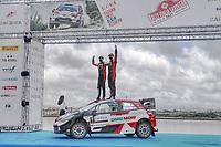 6th June 2021; Olbia, Sardinia, Italy; WRC Rally of Sardegna, final day; Stages SS17-SS20;  Sebastien Ogier-Toyota Yaris WRC race winner