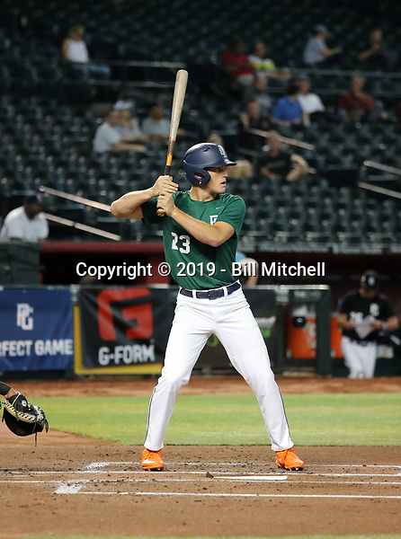 Anthony Shaver participates in the 2019 PG National Showcase at Chase Field on June 11-15, 2019 in Phoenix, Arizona (Bill Mitchell)