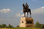Statue of Union General George Meade, Gettysburg National Military Park, Pennsylvania, USA