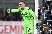 Lukasz Skorupski of Bologna <br /> Milano 03-02-2019 Stadio San Siro Football Serie A 2018/2019 Inter - Bologna    <br /> Foto Image Sport / Insidefoto