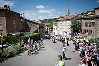 breakaway group with Thomas de Gendt (BEL/Lotto-Soudal), Ben King (USA/Dimension Data), Alessandro De Marchi (ITA/CCC) & Niki Terpstra (NED/Total - Direct Energie)<br /> <br /> Stage 8: Mâcon to Saint-Étienne(200km)<br /> 106th Tour de France 2019 (2.UWT)<br /> <br /> ©kramon