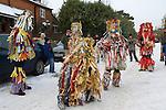Otterbourne Mummers Hampshire UK December 2010.