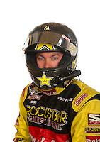 Mar. 18, 2011; Chandler, AZ, USA;  LOORRS driver Kyle LeDuc poses for a portrait at Firebird International Raceway. Mandatory Credit: Mark J. Rebilas