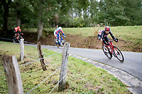 Kobe Goossens (BEL/Lotto-Soudal) <br /> <br /> 106th Liège-Bastogne-Liège 2020 (1.UWT)<br /> 1 day race from Liège to Liège (257km)<br /> <br /> ©kramon
