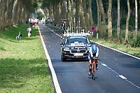 Luciana Roland (ARG)<br /> <br /> Women Elite Individual Time Trial from Knokke-Heist to Bruges (30.3 km)<br /> <br /> UCI Road World Championships - Flanders Belgium 2021<br /> <br /> ©kramon