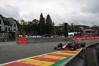 27th August 2021; Spa Francorchamps, Stavelot, Belgium: FIA F1 Grand Prix of Belgium, free practise:  Sergio Perez MEX 11 , Red Bull Racing Honda