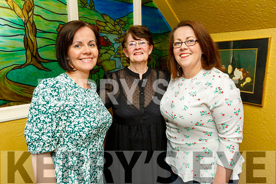 Edel and Lada Hobbard and Emer McDaid enjoying the evening in the Brogue Inn on Friday.