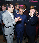 Zachary Quinto, Joe Mantello and Mart Crowley attends the 'The Boys In The Band' 50th Anniversary Celebration at The Second Floor NYC on May 30, 2018 in New York City.