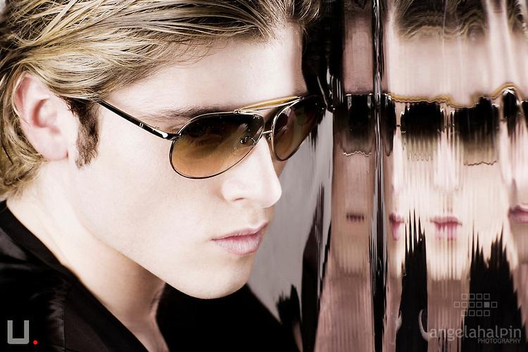 Photographer: Angela Halpin. Model Nathan - Compton Models. Hair & Make up Nadia Macari.