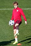 Atletico de Madrid's Antoine Griezmann during training session. March 14,2017.(ALTERPHOTOS/Acero)