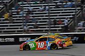 #18: Kyle Busch, Joe Gibbs Racing, Toyota Camry M&M's Summering, #3: Austin Dillon, Richard Childress Racing, Chevrolet Camaro Andy's Frozen Custard