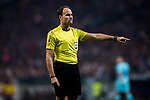 Referee Antonio Miguel Mateu Lahoz in action during the La Liga 2017-18 match between Atletico de Madrid and FC Barcelona at Wanda Metropolitano  on 14 October 2017 in Madrid, Spain. Photo by Diego Gonzalez / Power Sport Images