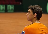 11-sept.-2013,Netherlands, Groningen,  Martini Plaza, Tennis, DavisCup Netherlands-Austria, Draw,   Jesse Huta Galung (NED)<br /> Photo: Henk Koster