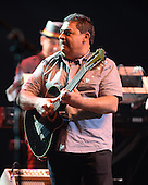 HOLLYWOOD FL - JUNE 13: Tonino Baliardo of The Gipsy Kings PerformS at Hard Rock Live held at the Seminole Hard Rock Hotel & Casino on June 13, 2015 in Hollywood, Florida. (Photo by Larry Marano © 2015