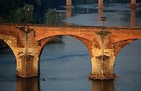 Europe/France/Midi-Pyrénées/81/Tarn/Albi: LE pont vieux et le Tarn