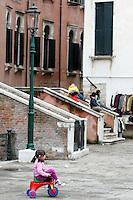 Uno scorcio del sestiere di Castello.<br /> A view of the sestiere of Castello, Venice.<br /> UPDATE IMAGES PRESS/Riccardo De Luca