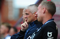 Mike Marsh, assistant first team coach for Swansea Cityduring the pre season friendly match between Exeter City and Swansea City at St James Park in Exeter, England, UK. Saturday, 20 July 2019