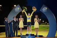 yellow jersey: Chris Froome (GBR)<br /> <br /> Tour de France 2013<br /> (final) stage 21: Versailles - Paris Champs-Elysées<br /> 133,5km