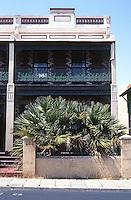 Fremantle: Terrace House, 203 High St., circa 1890. Photo '82.