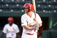 ***Temporary Unedited Reference File***Springfield Cardinals second baseman Bruce Caldwell (8) during a game against the Northwest Arkansas Naturals on April 26, 2016 at Hammons Field in Springfield, Missouri.  Northwest Arkansas defeated Springfield 5-2.  (Mike Janes/Four Seam Images)