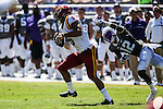 Iowa State Cyclones wide receiver Allen Lazard (5) in action during the game between Iowa State Cyclones and the TCU Horned Frogs at the Amon G. Carter Stadium in Fort Worth, Texas.