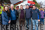 At The Red Fox Tractor Run on Sunday L-R Theresa O'Gorman from Cromane, John O'Gorman from Scartaglin, Edward Begley from Tullig Beg, Tony & Brian O'Gorman from Cromane.