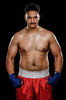 6th October 2020, Auckland, New Zealand;  New Zealand Tongan Heavyweight boxer Junior Fa photoshoot at Photosport studio