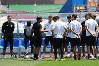 Besprechung vor dem Training mit Bundestrainer Joachim Loew (Deutschland Germany) - 24.06.2017: Training der Deutschen Nationalmannschaft, Fisht Stadium Sotschi