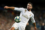 Real Madrid CF's Dani Carvajal seen in action during UEFA Champions League match, groups between Real Madrid and Galatasaray SK at Santiago Bernabeu Stadium in Madrid, Spain. November, Wednesday 06, 2019.(ALTERPHOTOS/Manu R.B.)