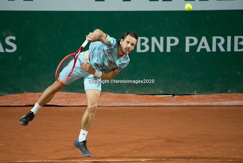 Paris, France, 30 May, 2020, Tennis, French Open, Roland Garros, Men's doubles: Wesley Koolhof (NED)<br /> Photo: Susan Mullane/tennisimages.com