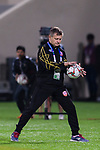 Bahrain Head Coach Miroslav Soukup catches the ball during the AFC Asian Cup UAE 2019 Group A match between India (IND) and Bahrain (BHR) at Sharjah Stadium on 14 January 2019 in Sharjah, United Arab Emirates. Photo by Marcio Rodrigo Machado / Power Sport Images