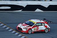 #54: Michael Johnson Racing Hyundai Veloster N TCR, TCR: Michael Johnson, Stephen Simpson