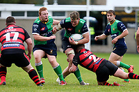 Saturday 3rd October 2020 | Hinch vs Armagh<br /> <br /> Joe Dunleavy on the attack for Ballynahinch during their Ulster Senior League clash against Armagh at Ballymacarn Park, Ballynahinch, County Down, Northern Ireland. Photo by John Dickson / Dicksondigital