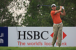 Rafael Cabrera-Bello Teeing off on the 13th on day 3 of the Abu Dhabi HSBC Golf Championship 2011, at the Abu Dhabi golf club, UAE. 22/1/11..Picture Fran Caffrey/www.golffile.ie.