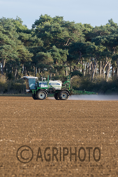 Pre-Emergence spraying on Winter Wheat<br /> Picture Tim Scrivener 07850 303986<br /> ….covering agriculture in the UK….