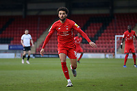 Lee Angol of Leyton Orient during Leyton Orient vs Salford City, Sky Bet EFL League 2 Football at The Breyer Group Stadium on 2nd January 2021