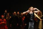 WELCOME TO THE VOICE - Steve Nieve..Théâtre du Chatelet - Paris..15 november 2008....Lily, the singer - Sylvia Schwartz....Credit : Laurent PAILLIER / ArenaPAL