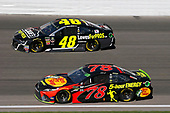 #48: Jimmie Johnson, Hendrick Motorsports, Chevrolet Camaro Lowe's for Pros and #78: Martin Truex Jr., Furniture Row Racing, Toyota Camry Bass Pro Shops/5-hour ENERGY