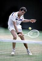 Wimbledon, 1989, Michiel Schapers in actie
