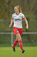 Zulte Waregem's midfielder Lotte De Wilde  pictured during a female soccer game between SV Zulte - Waregem and KRC Genk on the 8 th matchday of the 2020 - 2021 season of Belgian Scooore Women s SuperLeague , saturday 21 th of November 2020  in Zulte , Belgium . PHOTO SPORTPIX.BE | SPP | DIRK VUYLSTEKE