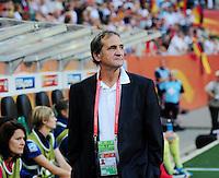 Fifa Women's World Cup Germany 2011 : France - Germany ( Frankrijk - Duitsland ) at Munchengladbach World Cup stadium :  coach Bruno BINI.foto DAVID CATRY / Vrouwenteam.be