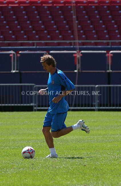 WWW.ACEPIXS.COM . . . . . ....NEW JERSEY, MAY 30TH 2005....England soccer team Captain David Beckham at a training session at Giants Stadium in New Jersey.....Please byline: KRISTIN CALLAHAN - ACE PICTURES.. . . . . . ..Ace Pictures, Inc:  ..Craig Ashby (212) 243-8787..e-mail: picturedesk@acepixs.com..web: http://www.acepixs.com